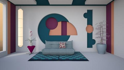 Colour blocks - by Nicky West