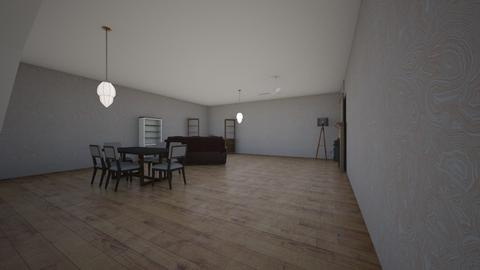 container house draft 2 - Living room  - by freddypyjamas