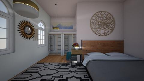 Beach - Bedroom  - by FANGIRLdesigner