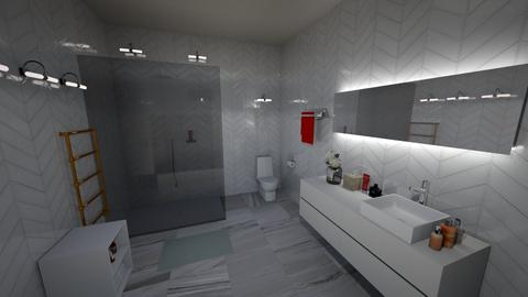 minimalis - Minimal - Bathroom - by enotbillies