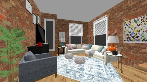 nyc apartment - Living room - by mollyymaryy