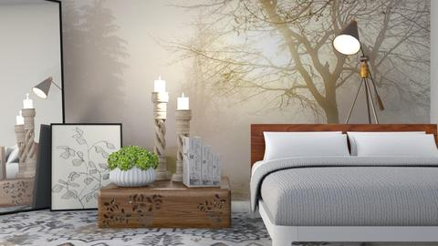 M_ Photo wallpaper - Bedroom  - by milyca8