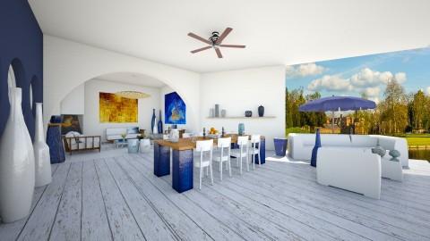 Indoor Outdoor 2 - Modern - Garden  - by camilla_saurus