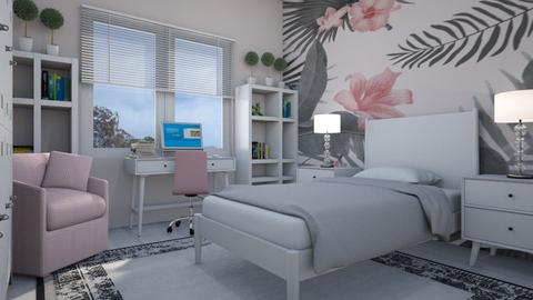 For Show_off - Eclectic - Bedroom  - by Theadora