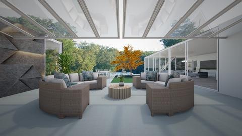 LA House - Garden  - by flacazarataca_1