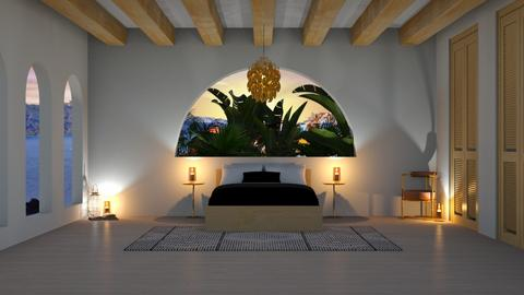 Kinda Tropical Bedroom - by TropicalWeed