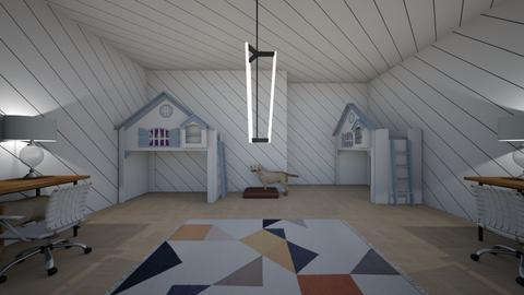 twin sisters room  - Bedroom  - by Elaine_the_bold
