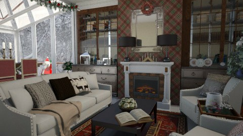 Merry Christmas - Living room  - by Tim VB