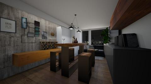 House Bar - by de_kan