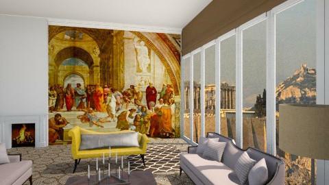 Athens avant garde - Eclectic - Living room  - by vesperart