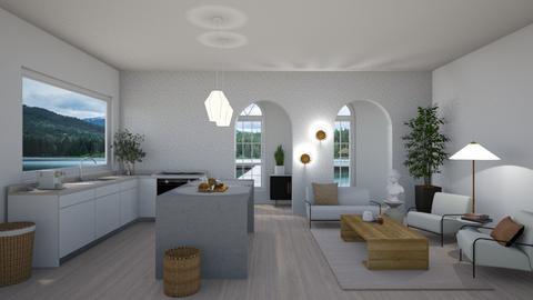Coastal Living - Minimal - Living room  - by SunflowerStudios