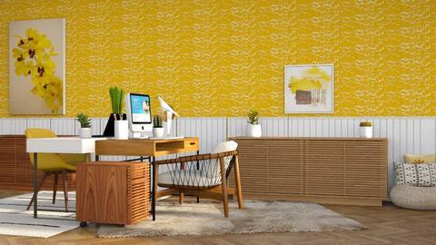 YD2 - Modern - Office  - by CitrusSunrise
