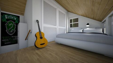 Secret Attic Room - Bedroom - by SammyJPili