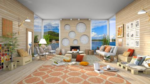 Grace Gracia - Living room  - by Ferplace