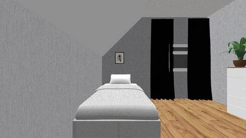 mitt nye room  - Modern - Bedroom  - by sophiebestlove