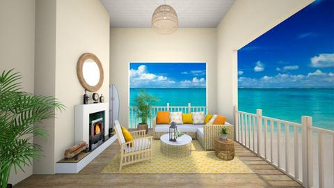 Beach Living Room - Global - Living room - by fatihafitra