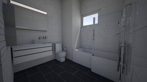 Small Apartment Bathroom - Modern - Bathroom  - by aaronhau