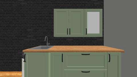 small home kitchen - Kitchen  - by emelieschuck