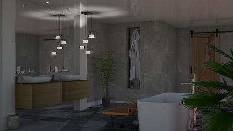 cozy bathroom - by jolaskajp