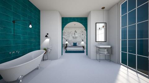 Grecian Flow - Bathroom  - by KylaTH