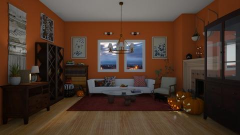 Halloween 2021 - Living room  - by colorful_eye