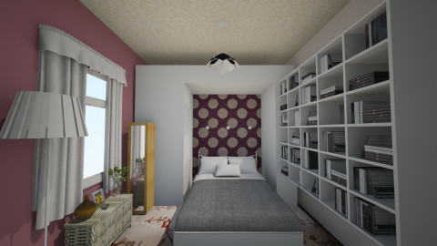 habitaciondepto - Classic - Bedroom  - by Almadeflores