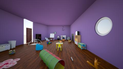 nursery - Kids room  - by aceblacknight