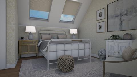Morris wallpaper - Bedroom - by Tuija