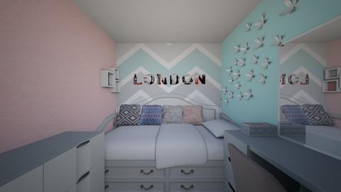 hermoso dormitorio mujer - Vintage - Bedroom  - by Marilynyac