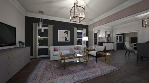 She Said_Daisy de Arias - Glamour - Living room  - by Daisy de Arias