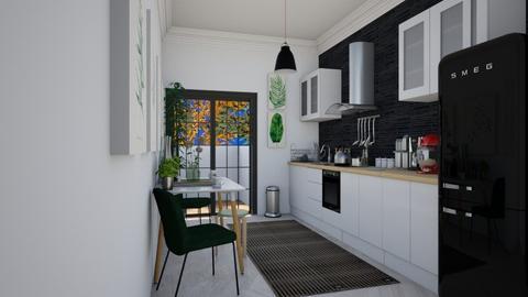 Stockholm - Minimal - Kitchen  - by Larcho1996