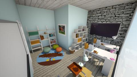 Perfect homeschool room - Modern - by jeushalumley