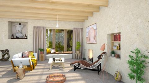 Okeefe inspo living  - Living room - by ginamelia22