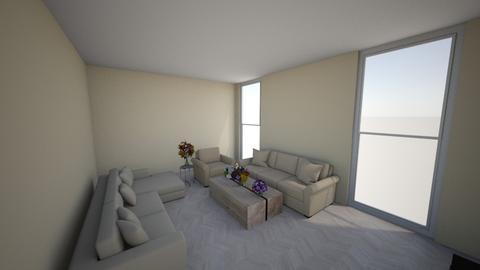 Modern living room - Modern - Living room  - by Pizzahomestyler