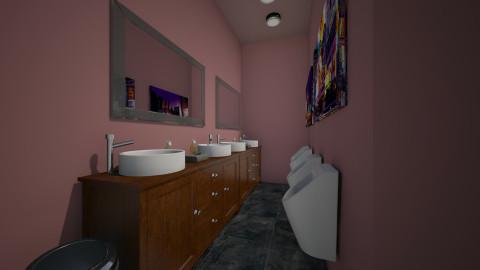 venus washroom male2 - Classic - Bathroom  - by vivian wong_172