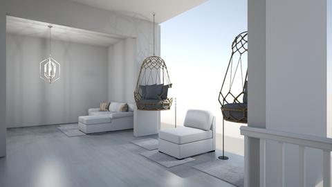 Living Room Hallway - Modern - Living room  - by sherrylizhu