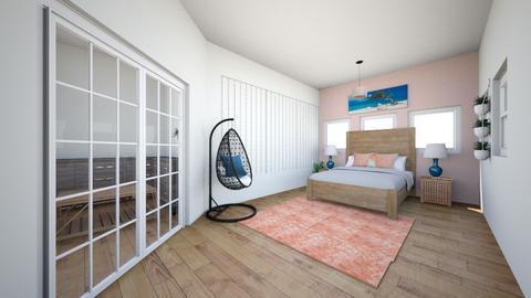 tropical bedroom - Bedroom  - by aparish5846
