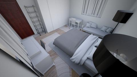 ROOM 1 - Modern - Bedroom  - by alemontero