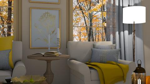 cosy time - Living room  - by dorota_k