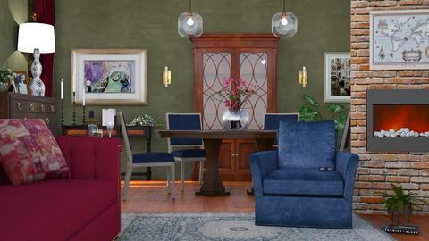M_ Eclectic room - Living room - by milyca8