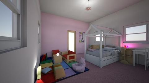 Kids room pink - Kids room - by majarex