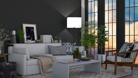 BOHO LIVING ROOM - Living room  - by KittyKat28