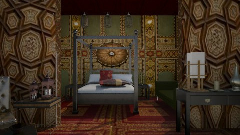 The Sultanas Room  - Vintage - Bedroom  - by SariJo