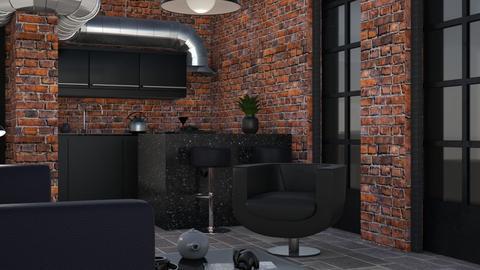 Basement floor - Living room  - by zozan