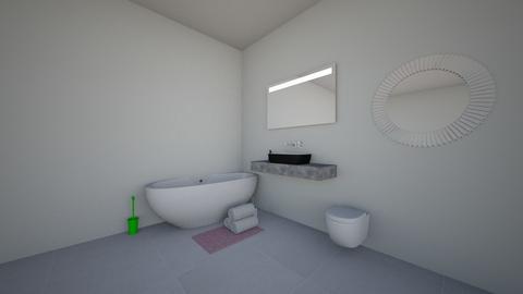 small and neato bathroom - Bathroom  - by lex faye