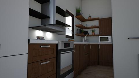 COCINA ELENA - Kitchen  - by ELENNAVISI