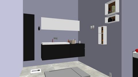 Black vanity - Bathroom  - by stuid12