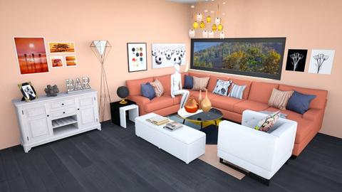 salon first love - Modern - Living room - by rimanina