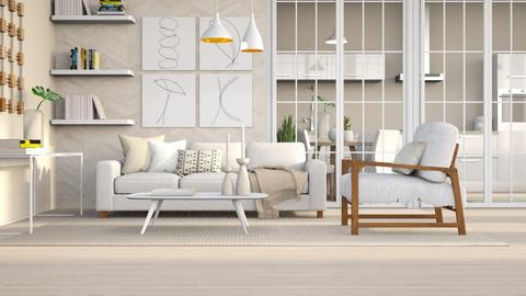Neutral - Living room - by igell90