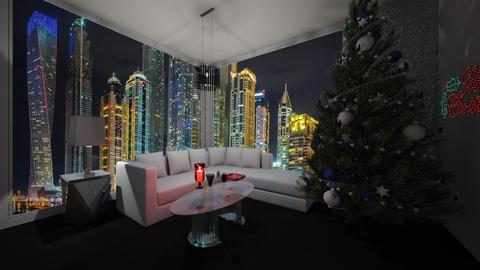 xmas in dubai - Country - Living room  - by vallequeen